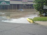 Eastbrook Plaza Flood by Rick Drake